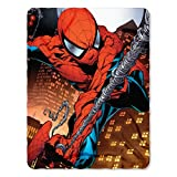 Marvel Web Swing Fleece Throw Blanket Spider-Man, 45' x 60', Multi Color