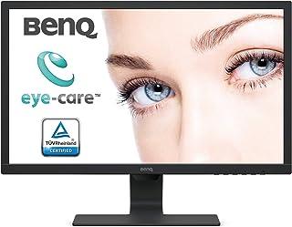 BenQ BL2483 24 Inch 1080p Eye-Care 1ms 75 Hz LED Monitor, Brightness Intelligence, Anti-Glare, Free, Slim Bezel, Black