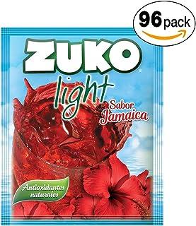 Zuko Light Polvo Jamaica, 1056 g, Caja con 96 Sobres