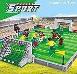 Ingenious Toys Ftbol Nuevo Caja Set / Sport Soccer Juego Jugable City Pitch #B5590