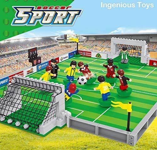Ingenious Toys Calcio Nuovo Scatola / Set Sport Calcio Gioco Giocabile City Pitch #B5590