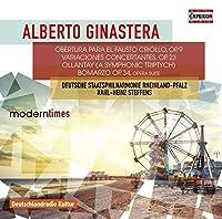Alberto Ginastera: Orchestral Works by Deutsche Staatsphilharmonie Rheinland-Pfalz