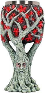 Nemesis Now Weirwood Tree Game of Thrones Goblet 23.5cm Grey, Resin w/Stainless Steel Insert, One Size