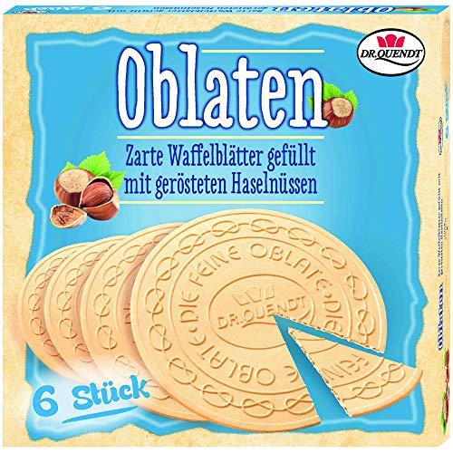 Oblaten Dresdner mit Haselnüssen 150g - tolle DDR Kultprodukte - Ossi Produkte