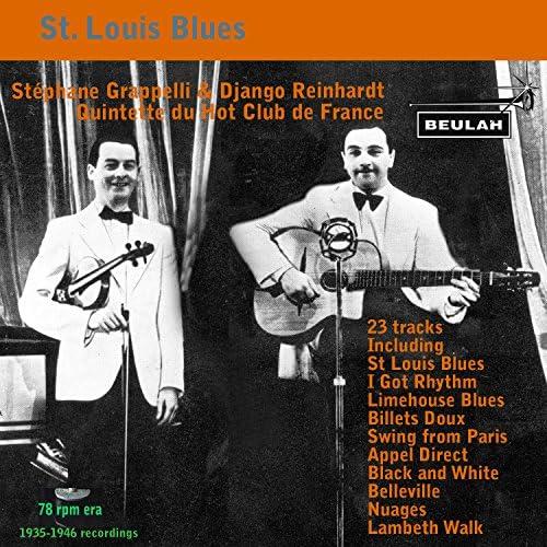 Quintette Du Hot Club De France, Stéphane Grappelli & Django Reinhardt
