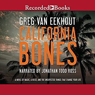 California Bones audiobook cover art