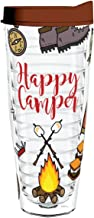 product image for Smile Drinkware USA-Happy Camper 26oz Tritan Insulated Tumbler with Lid and Straw