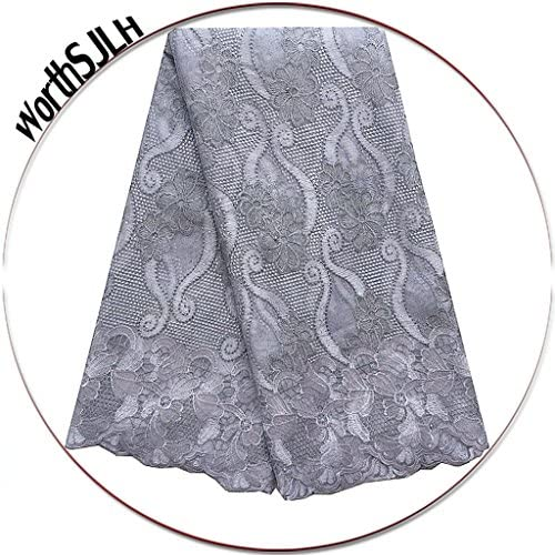 African velvet lace fabric _image4