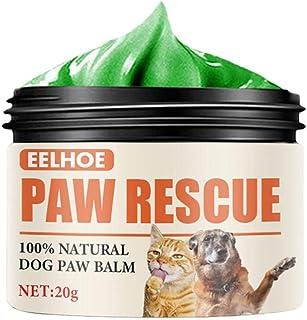 Pfotenbalsam Hund,Pfotenpflege Hund,Nasenpflege,100 Natürliches Pfotenwachs, Natürliches Haustierfußpolsterschutzöl Zur Reparatur Von Trockener Und Rissiger Haut, Repariert Beschädigte Hundepfoten