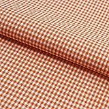 Hans-Textil-Shop Stoff Meterware Vichy Karo 2x2 mm Orange