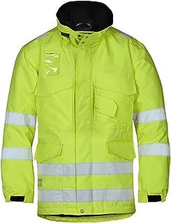 bcae8b35716bb Snickers 18236600005 Parka d'hiver haute visibilité Classe 3 Taille M jaune,