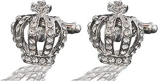 Best silver crown cufflinks Reviews