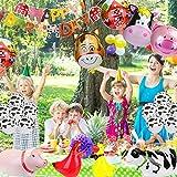Zoom IMG-1 kateluo palloncini compleanno animali fattoria