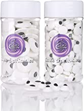 GEORLD 2 Bottle Candy Eyeballs Eyes Cake Cupcake Toppers Cookie Decorations,6.9 Ounce,Two Size Mixed