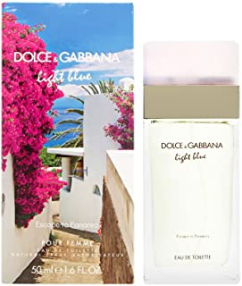Dolce & Gabbana Light Blue Escape To Panarea Eau De Toilette Spray 1.6 Oz./ 50 Ml for Women By Dolce & Gabbana, 1.6 Fl Oz