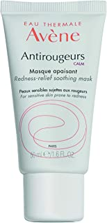 Eau Thermale Avene Antirougeurs CALM Soothing Repair Mask, Soothes Redness Prone Skin, Tinted Green, Hypoallergenic, 1.69 oz.