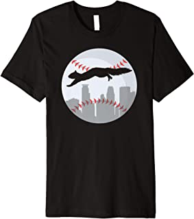 Minneapolis Minnesota Squirrel Silhouette Premium T-Shirt