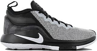 Mens Lebron Witness II Basketball Shoe Black/White 13
