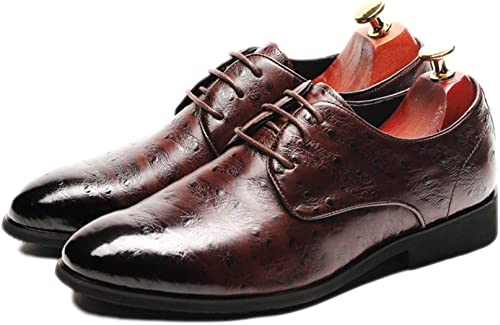 Nihiug Chaussures De Travail pour Hommes Chaussures De Sport, Chaussures De Sport, Chaussures De Mariage en Cuir