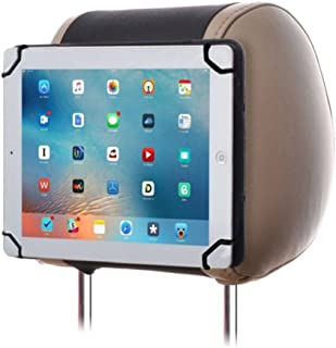 7-8 inch Universal Car iPad Holder Mount, RUISIKIOU Portable iPad Holder Back Seat Holder Case in Car for iPad Mini/Mini 2/Mini 3/Mini 4/Kindle Fire 7/Kindle Fire HD 8 Color Black