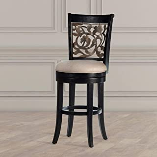Hillsdale Furniture Brendan Simple yet handsomely designed backless Counter Height Stool, Brown cherry finish