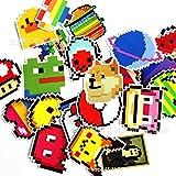 LMY Mosaico Stile Pixel Mar Cartoon Adesivi Io Pac-Man Gioco Personalizzato Pvc Impermeabile Graffiti Sticker Bagagli Notebook Tazza Acqua Chitarra Casco Sticker 25pcs