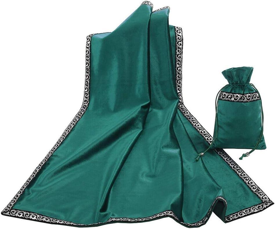 Houchu Retro Altar Tarot Table Flockin Cloth Divination Ceremony Daily bargain Bombing free shipping sale