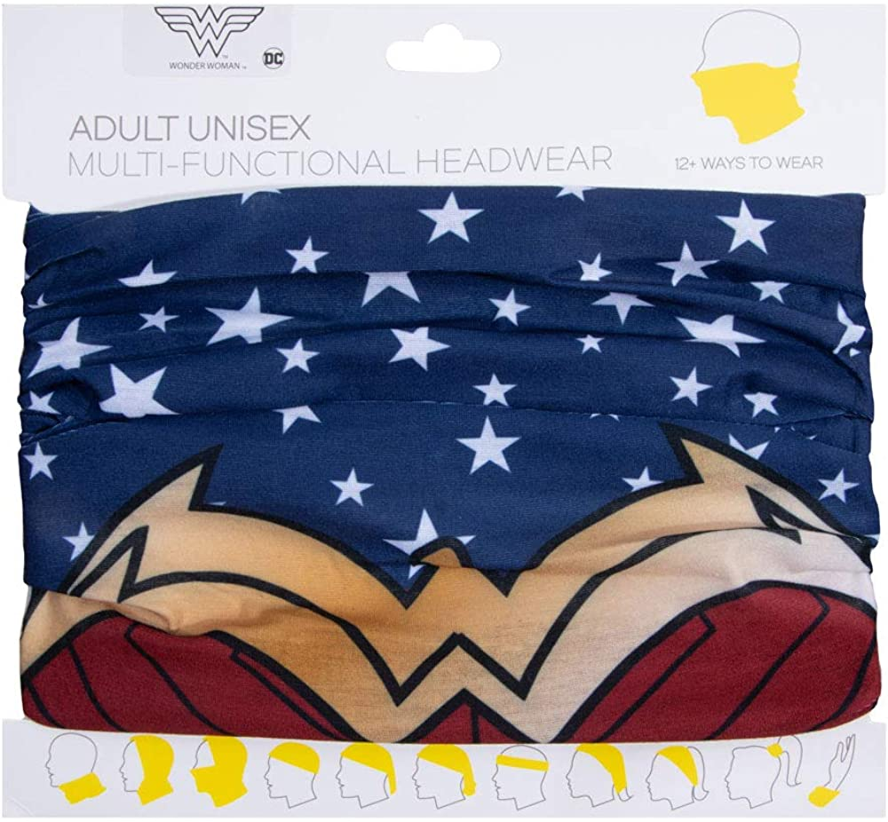 DC Comic Book Superhero Wonder Woman Adult Gaiter