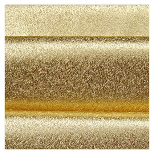 Sparkle Glitter Fabric Self Adhesive Champagne Gold Chunky Glitter Wallpaper 17.4in x 16.4ft, Champagne Gold
