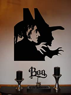 Diuangfoong Wizard of Oz Wicked Witch of The West Vinyl Wall Sticker Decal 22h X 23w