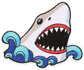 Best shark embroidered patches Reviews
