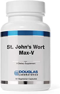 Douglas Laboratories - St. John's Wort Max-V - Standardized Extract to Support Mental and Emotional Health - 60 Capsules