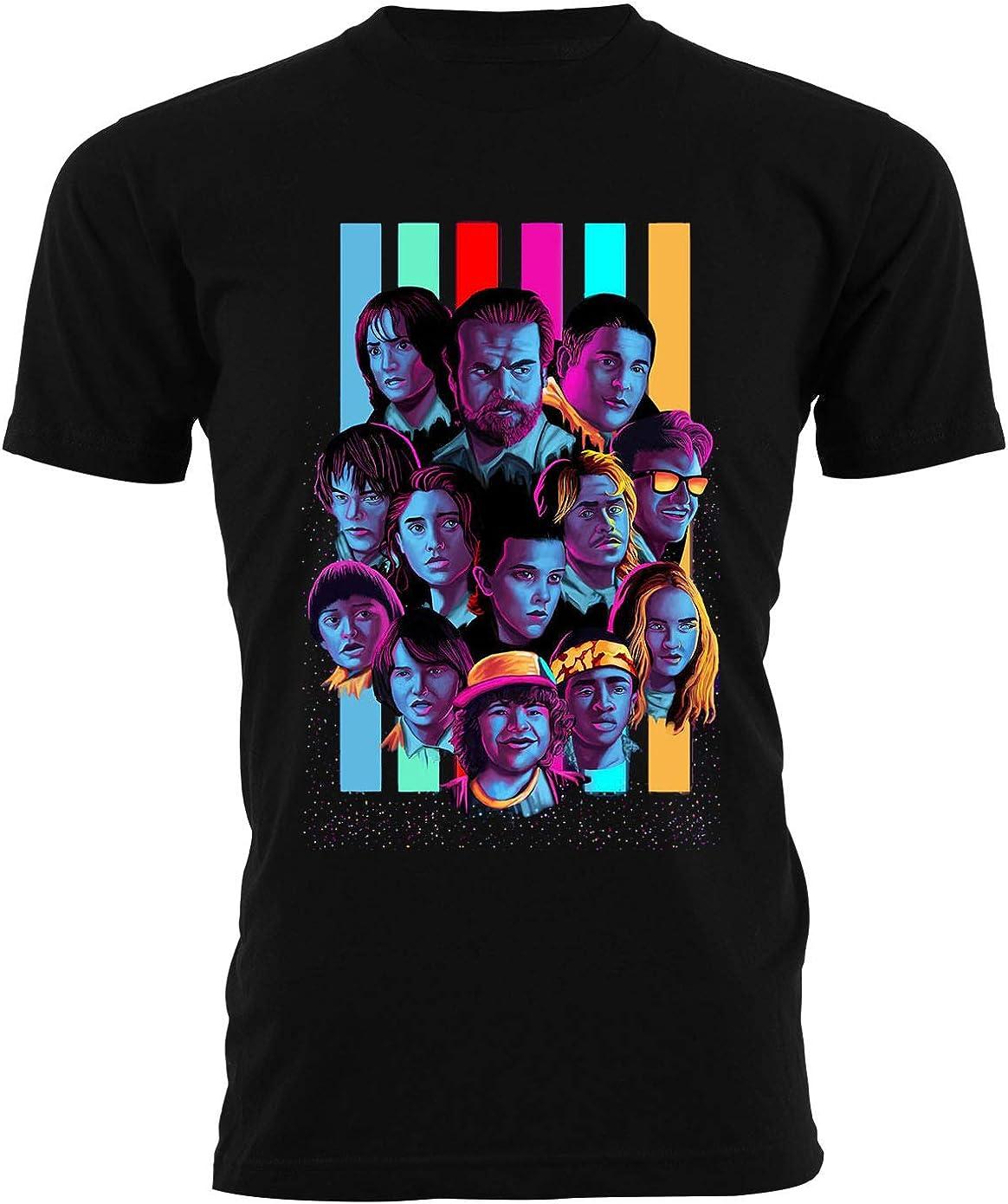 Generico T Shirt Upside Down Eleven Uomo Bambino Maglietta Demogorgon Dustin Serie TV