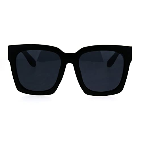 3e718d79de SUPER Oversized Square Sunglasses Womens Modern Hipster Fashion Shades