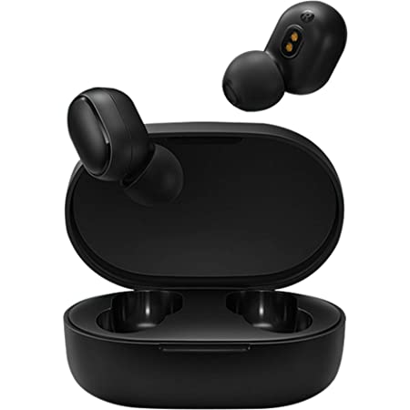 Xiaomi Redmi AirDots S Earbuds Basic S Headphones Wireless Headset with Mic for iPhone and Android Bluetooth 5.0 Stereo Touch Control Gaming Mode 1PX4 Waterproof with Charging Battery Case TWSEJ05LS