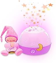 Chicco - Goedenacht Sterren Meisje - (Roze) - Projector: sfeerlichtje of lichtprojectie van sterren