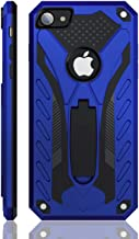 Kitoo iPhone 7 Case | iPhone 8 Case | Military Grade | 12ft. Drop Tested Protective Case | Kickstand | Wireless Charging | Compatible with Apple iPhone 7 / iPhone 8 - Blue