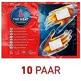 THE HEAT COMPANY Chauffe-Mains - Extra Chaud - Chaufferettes Mains - 12 Heures de Chaleur - Chaleur immédiate - autochauffante - purement Naturel - 10 Paires