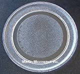 GE Microwave Glass Turntable Plate / Tray 9 5/8 in # WB49X10134