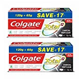 Colgate Total Whole Mouth Health, Antibacterial Toothpaste, 185gm , Pack of 2