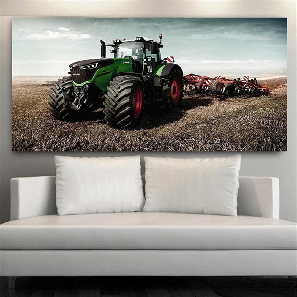 5D DIY Diamond Painting Kits Super Cheap mail order shopping special price for Drill Full Adults Farm Tractor