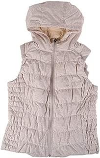 Blanc Noir Be Womens Hooded Vest