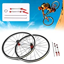 TBVECHI Bike Wheelset 700C Bicycle Road Bike Wheel F&R Wheel Set Aluminium Rim 30mm Brake C/V
