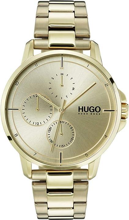 Orologio hugo boss hugo focus - orologio da polso al quarzo, da uomo 1530026