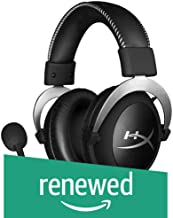 HyperX Cloud Pro Gaming Headset - Silver - with in-Line Audio Control for PS4, Xbox One, and PC (HX-HSCL-SR/NA) (Renewed)