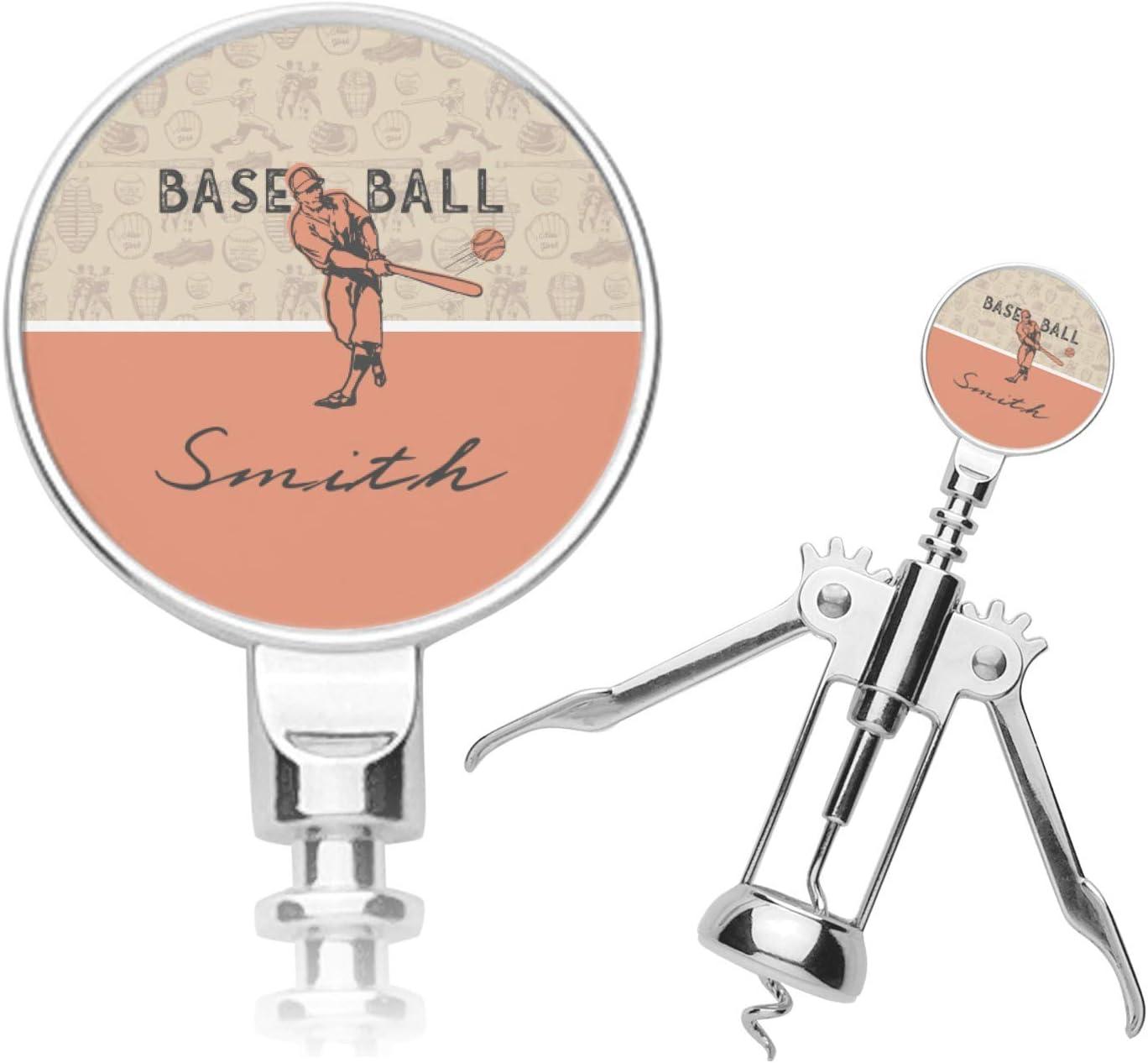 Retro Baseball Corkscrew Fashion Boston Mall Personalized