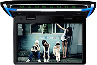 10.1 inch Car Overhead Monitor 1080P Video HD Digital TFT Screen Wide Screen Ultra-Thin Mounted Car Roof Flip Down Player ...
