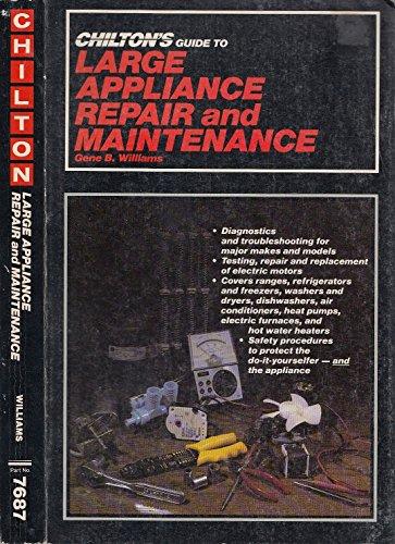 large appliance repair book - 3