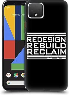 Official WWE Redesign, Rebuild, Reclaim Seth Rollins Hard Back Case Compatible for Google Pixel 4