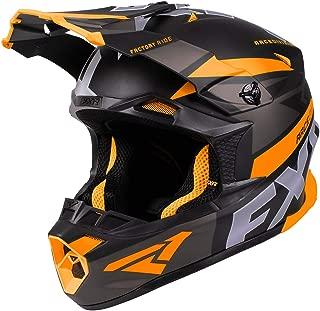 FXR Blade 2.0 Force Helmet - Orange/Black/Charcoal - SML